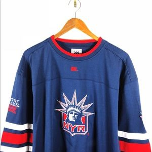 5e4b2fe85 NHL Shirts - New York Rangers Hockey Jersey NHL Lady Liberty